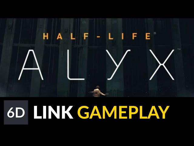 Half-Life: Alyx Running on Oculus Link | Oculus Quest Gameplay Footage
