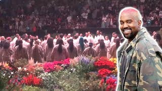 Kanye West Performs His 'Jesus Is King' Sunday Service Experience At The Forum