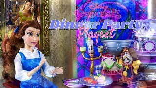 Unbox Daily: Disney Princess Belle Dinner Party Playset | Snow White Dance Party Playset