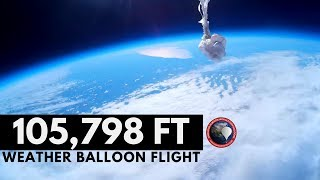 GoPro High Altitude Weather Balloon to 105 000 FT