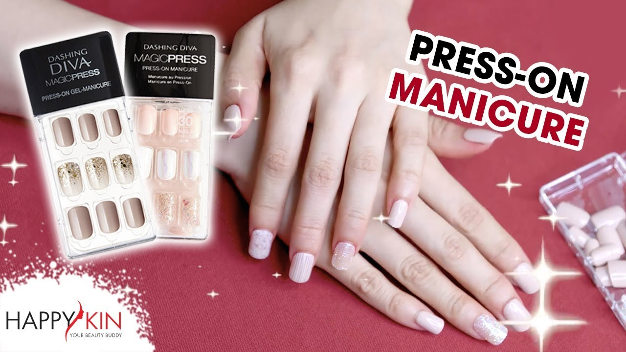 REVIEW & GIVEAWAY Miếng Dán Móng Gel Dashing Diva Press-on Manicure ...