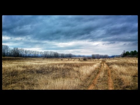 Timelapse trail running video at Szada, Hungary