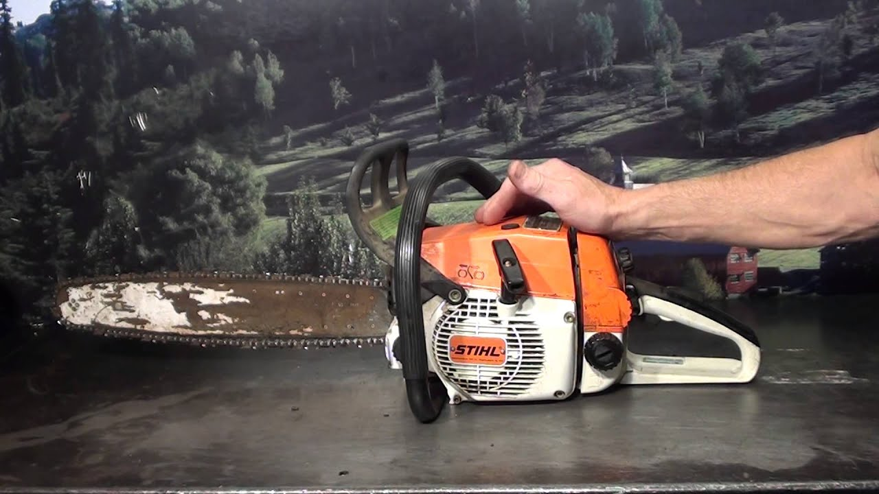 The chainsaw guy shop talk Stihl 024 running parts saw 918