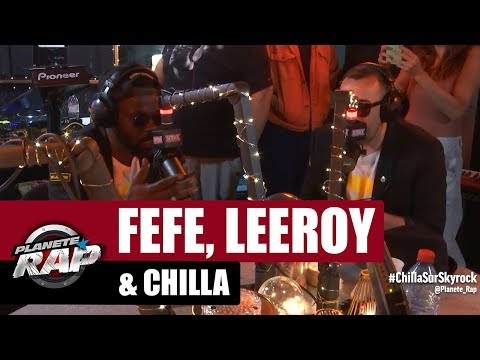 Youtube: Féfé & Leeroy – Freestyle avec Chilla #PlanèteRap