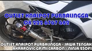 Ninja 250 FI full system Akrapovic Gp Lorenzo Carbon by Key Speed