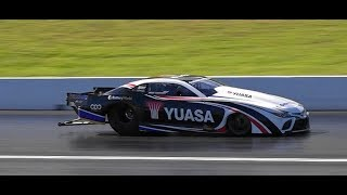 WORLD'S FASTEST SPORTS COMPACT CAR ROD HARVEY RACING 2JZ PRO MOD CAMRY 5.72 @ 256 MPH