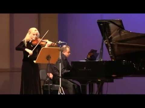 Gudrun Schaumann & Anthony Spiri play Robert Schumann Sonata d minor op.121: II Sehr lebhaft