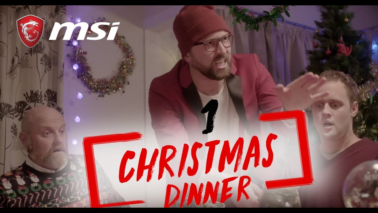 Episode 1: Christmas Dinner|#DearGamerSanta| MSI