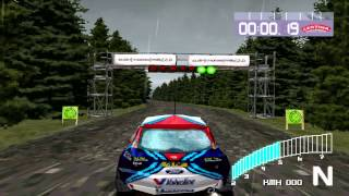 Colin Mcrae Rally 2 - Playthrough Part 9 : Intermediate Rally Championship - United Kingdom