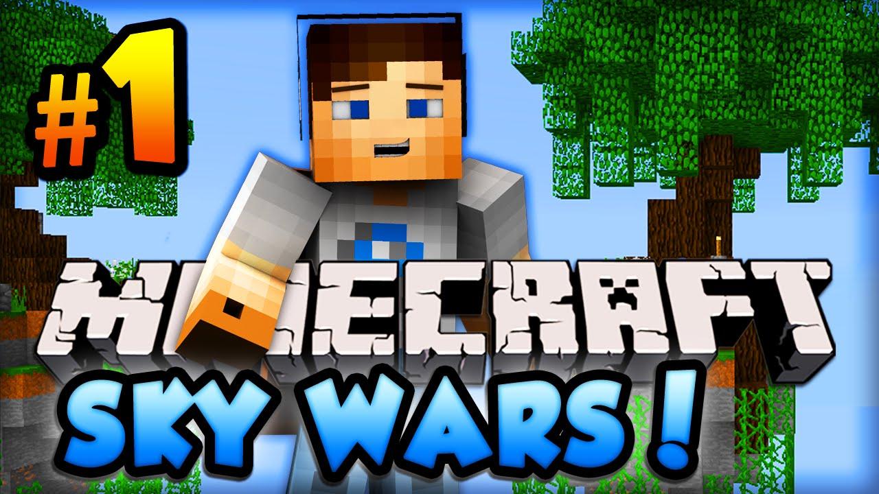 Minecraft SKYWARS EPIC FIRST GAMES Minecraft W AliA - Minecraft skywars spiele