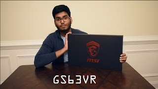 MSI GS63VR Stealth Pro |Unboxing| - Powerful and Light Gaming Laptop