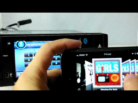 pair iphone to car how to pair iphone to gearflag 4 3 quot car dvd player 4310 2341