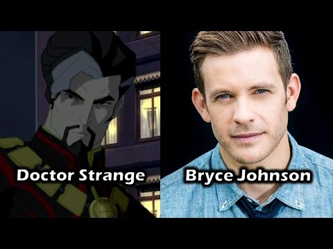 Characters and Voice Actors  Doctor Strange: The Sorcerer Supreme