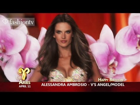 Happy Birthday Victoria's Secret Angel Alessandra Ambrosio! April 11 | FashionTV