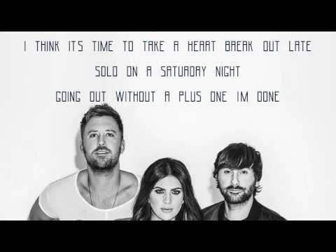 Lady Antebellum - Heart Break (Lyrics Audio)