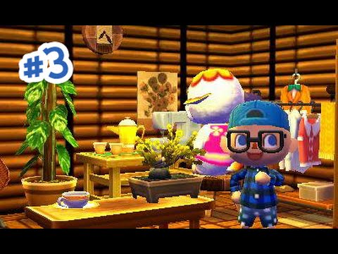 Animal Crossing Happy Home Designer - Miles et le centre ville!