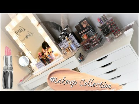 MY MAKEUP COLLECTION & STORAGE / 2018