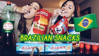 TRYING BRAZILIAN SNACKS