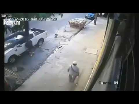 Instant Karma Compilation Brazilian Cops Shoot Robbers #1 Mp3