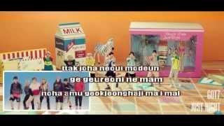 Just Right - GOT7 (Karaoke/Instrumental)