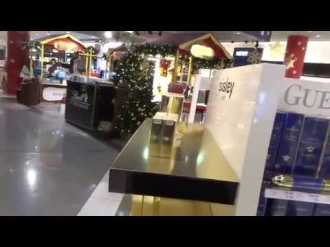 Aruna & Hari Sharma Shopping at Duty Free Shop Frankfurt Airport Germany, Jan 03, 2015