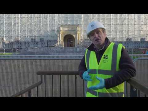Paul Cook, Project Director, talks about Clandon Park architects Allies and Morrison