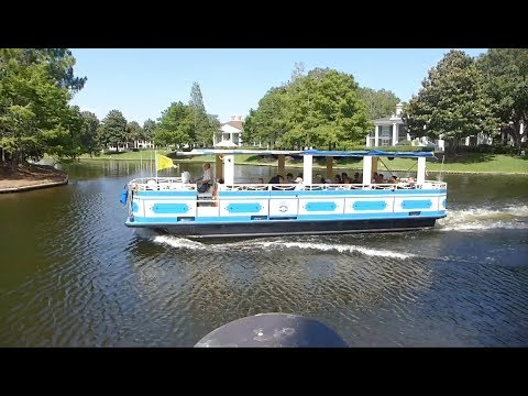 Walt Disney World - Sassagoula River Cruise Ferry - Port Orleans to Disney Springs HD (2017)