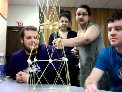 Spaghetti And Marshmallow Tower- Team Awesome