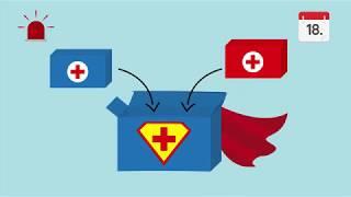Lern-Videoclip 7: Asthmamedikamente helfen. Weisst du wie?