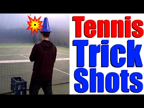 Tennis Trick Shots | Top Tennis Training