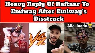 Emiway Bantai VS Raftaar, MC Stan,Divine | Raftaar Reply To Emiway | Fight