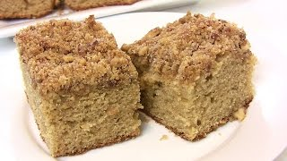 """back To School"" Old Fashioned Coffee Cake Recipe- Back-to-school Recipe 