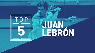 El Top 5 de Juan Lebrón - World Padel Tour
