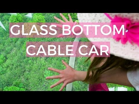 GLASS BOTTOM CABLE CAR IN KUALA LUMPUR MALAYSIA