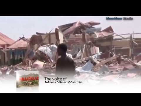 Footage shows chaotic aftermath of Galkacyo explosion