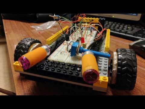 Hipo Bot - Robot para prova de obstáculos