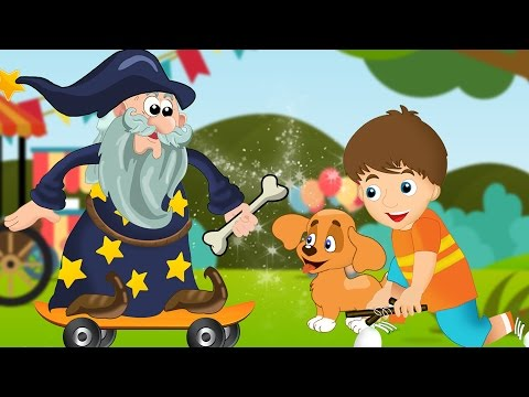 This Old Man 🌟 | This Old Man He Played One Song ⍣🐕✴ | Nursery Rhyme With Lyrics