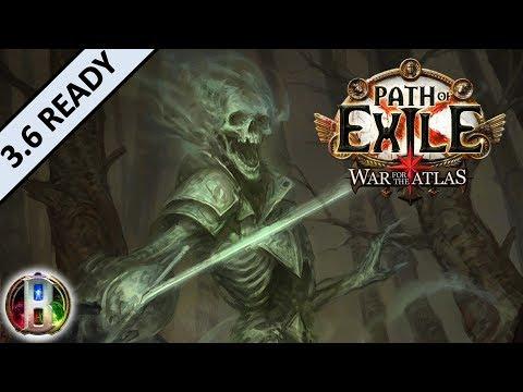 [3.5] Cold Spectral Throw Build - Raider Ranger - Path of Exile War For The Atlas - Betrayal