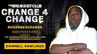 Donnell Rawlings Gives Weed, Lotion And $3.45 To #Change4Change