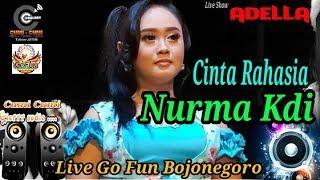 Cinta Rahasia - Nurma Kdi - Om Adella  Live Show Go Fun Bojonegoro