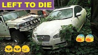 ABANDONED Exotic Cars in INDIA (Part 2) ! ! ! ! !