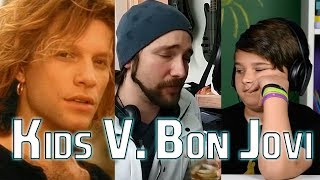 KIDS DON'T KNOW BON JOVI?!?! | Mike The Music Snob Reacts