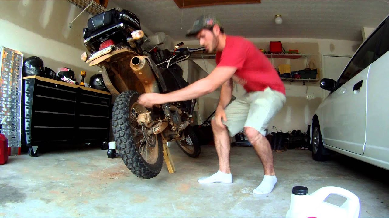 How To Make Your Own Motorcycle Jack Youtube