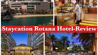 Rotana hotel and resort Abu Dhabi Beach Resort Staycation Vlog and Review