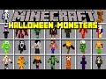 Minecraft HALLOWEEN MONSTERS MOD! | SURVIVE HALLOWEEN MOBS & BOSSES! | Modded Mini-Game