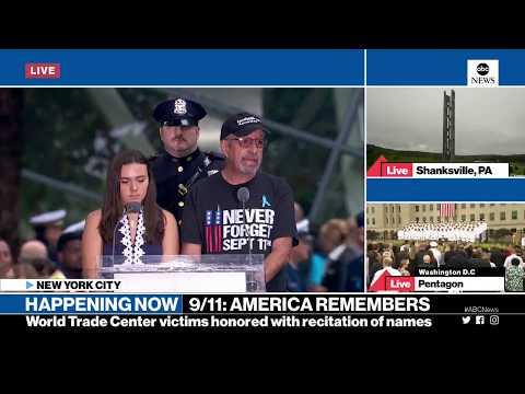 9/11 Anniversary 2018:  Live Memorial Coverage | ABC News