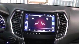 Штатное головное устройство Santa Fe (IX45) Redpower 21210B все комплектации(Работа головного устройства продемонстрирована в автомобиле Hyundai Santa FE комплектация Hi-Tech и Sport. Ссылка на..., 2016-03-29T12:22:05.000Z)