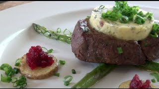 Beef Fillet & Tarragon Butter - Nicko's Kitchen