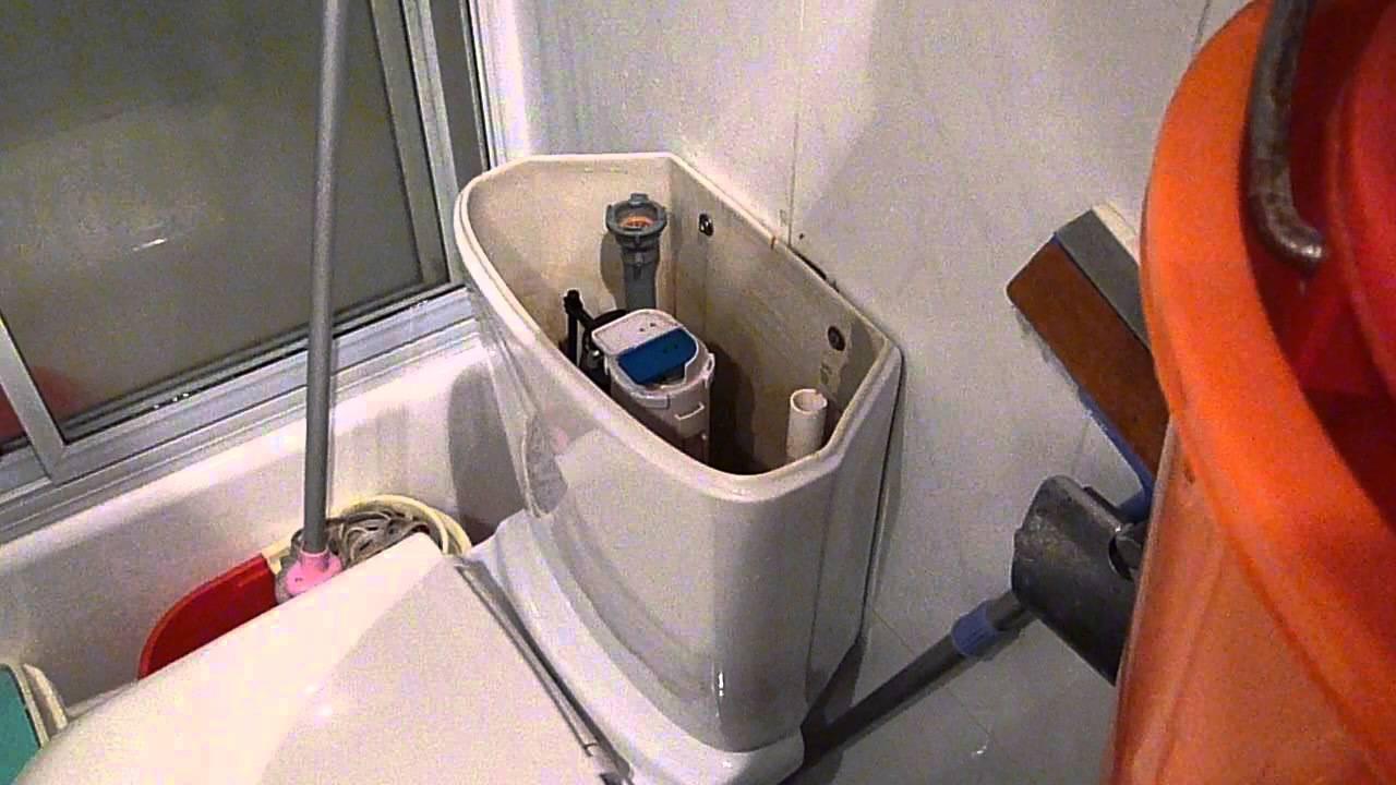 廁所水箱漏水維修DIY-1 (重要在下集2) - YouTube