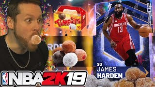 I became a Donut for JAMES HARDEN NBA 2K19
